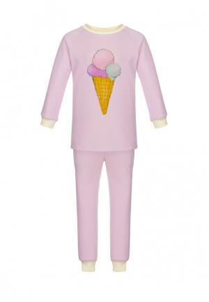 Пижама Lisa&Leo. Цвет: розовый