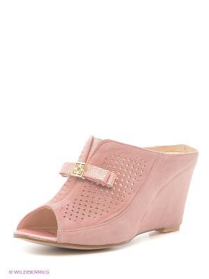 Сабо Vitacci. Цвет: розовый