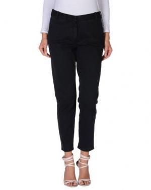 Повседневные брюки GRAN SASSO. Цвет: стальной серый