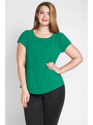 Блузка Bestiadonna. Цвет: зеленый