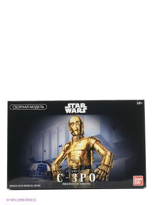 SW Сборная модель C-3PO 1/12 Bandai. Цвет: черный