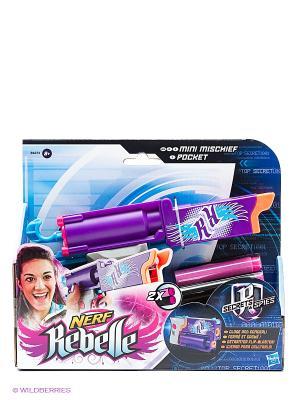 Секреты и Шпионы Бластер Невидимка NERF REBELLE. Цвет: фиолетовый, розовый, золотистый, белый, голубой