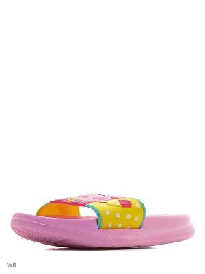 Пантолеты Kakadu. Цвет: розовый, желтый