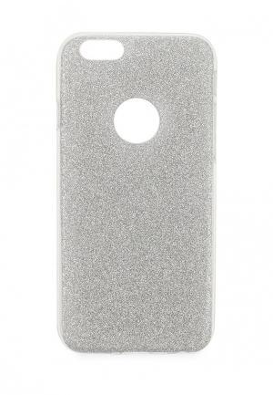 Чехол для iPhone New Top. Цвет: серебряный