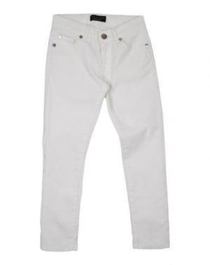 Джинсовые брюки TWIN-SET Simona Barbieri. Цвет: белый