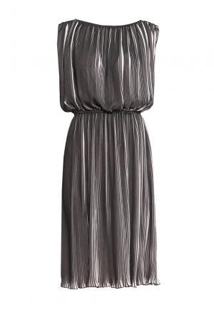 Платье из искусственного шелка 164314 Cyrille Gassiline. Цвет: разноцветный