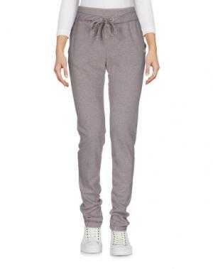 Повседневные брюки VIRTUS PALESTRE. Цвет: голубиный серый