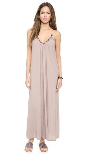 Пляжное платье Portofino 9seed. Цвет: голубой