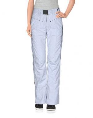 Лыжные брюки KRU. Цвет: светло-серый