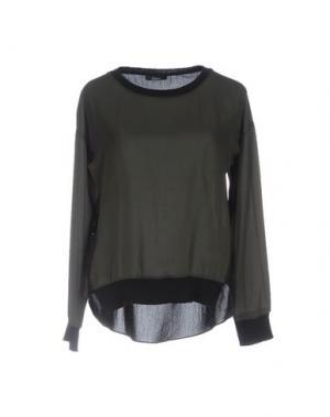 Блузка HANITA. Цвет: зеленый-милитари
