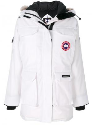 Expedition coat Canada Goose. Цвет: белый