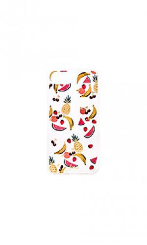 Чехол для iphone 6/7 fruit medley Sonix. Цвет: желтый
