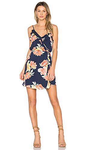 Платье foxglove Joie. Цвет: синий