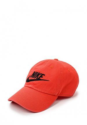 Бейсболка Nike. Цвет: красный