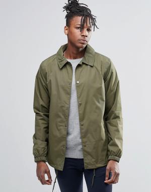 Dickies Спортивная куртка. Цвет: зеленый