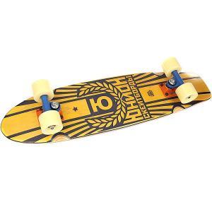 Скейт круизер  Sunset Yellow/Black 7.6 x 29.5 (75 см) Юнион. Цвет: желтый,черный