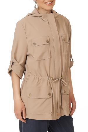 Куртка Argent. Цвет: бежевый
