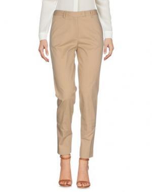Повседневные брюки E/KOLLINS. Цвет: песочный