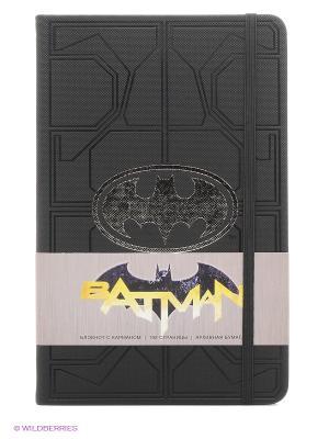 Блокнот Бэтмен Эксмо. Цвет: черный