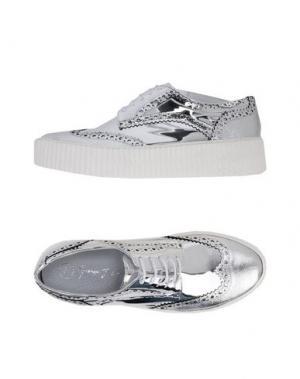 Обувь на шнурках GEORGE J. LOVE. Цвет: серебристый