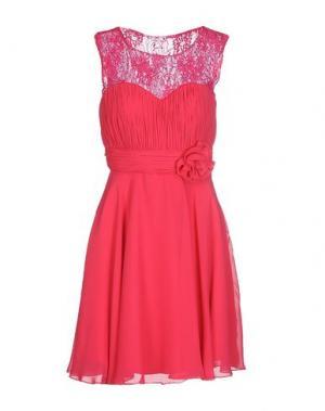 Короткое платье MUSANI COUTURE. Цвет: фуксия