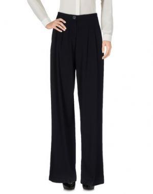 Повседневные брюки KORALLINE. Цвет: черный