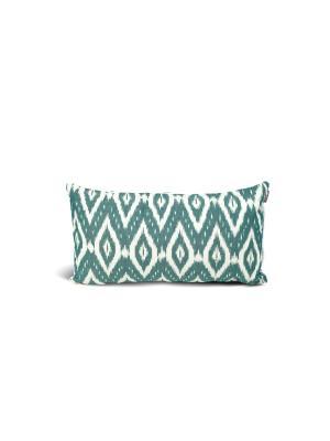 Чехол на подушку декоративныйIkat Long 35*60см RAWEDGE. Цвет: зеленый