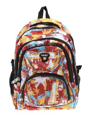 Рюкзак Olere. Цвет: оранжевый, белый, бирюзовый