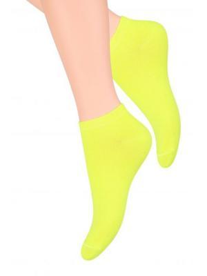 Комплект женских носков Steven, 38-40, ярко- желтый, ярко-розовый Steven. Цвет: желтый, розовый