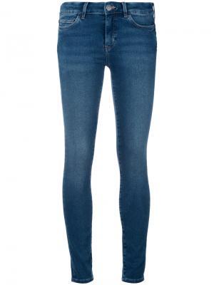 Джинсы скинни Bodycon Mih Jeans. Цвет: синий