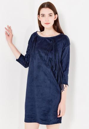Платье Troll. Цвет: синий