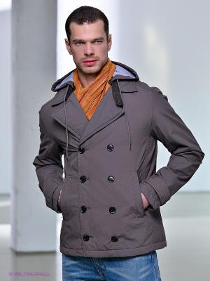 Пальто Conver Vintage. Цвет: серый