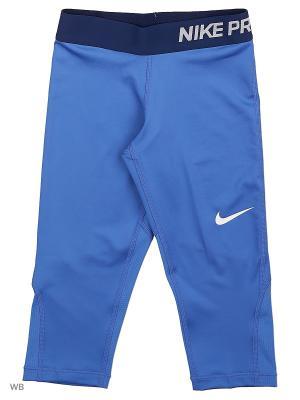 Капри G NP CL CPRI Nike. Цвет: синий