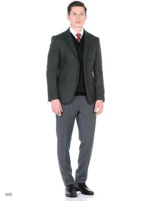 Пиджак BAWER. Цвет: серо-зеленый