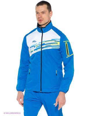 Куртка Forward. Цвет: голубой