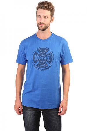 Футболка  Fade Cross Regular Royal Blue Independent. Цвет: синий