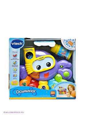 Развивающая игрушка Осьминог Vtech. Цвет: фиолетовый (осн.), оранжевый, желтый