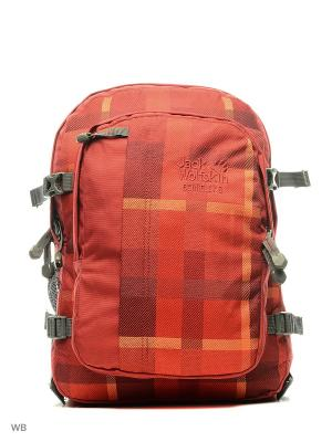 Рюкзак BERKELEY S Jack Wolfskin. Цвет: красный