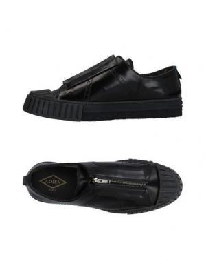 Низкие кеды и кроссовки ADIEU. Цвет: черный