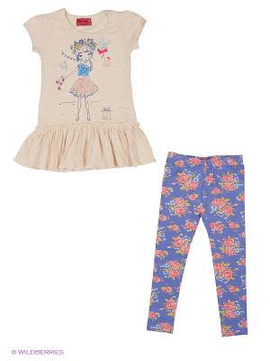 Комплекты одежды FUNKY DIVA. Цвет: бежевый, синий