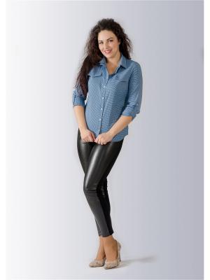 Рубашка Лагуна. Цвет: синий