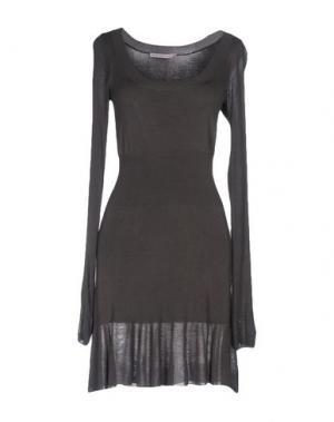 Короткое платье KOOKAI. Цвет: стальной серый