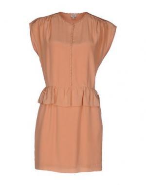 Короткое платье INTROPIA. Цвет: розовый