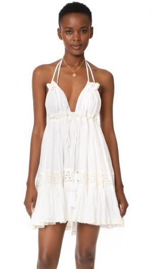 Платье Sofi MISA. Цвет: белый