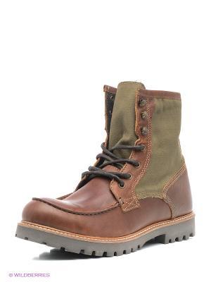 Ботинки Shoe the Bear. Цвет: зеленый