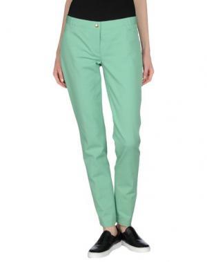 Повседневные брюки PAMELA HENSON. Цвет: светло-зеленый