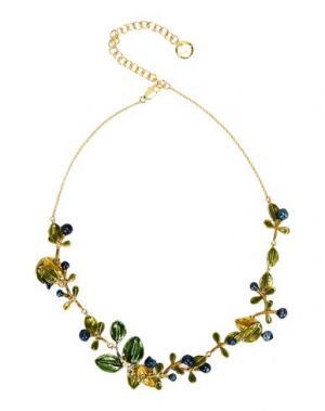 Ожерелье LA HORMIGA. Цвет: зеленый