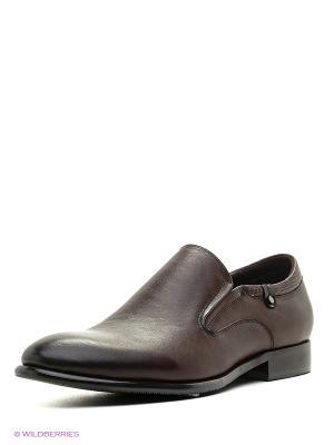 Туфли Renaissance. Цвет: темно-коричневый