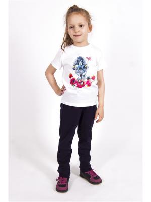 Спортивные штаны Тридевятое царство Emily Rise. Цвет: синий