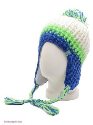 Шапка Ensis. Цвет: белый, зеленый, синий
